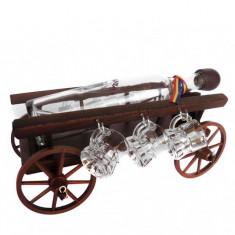Minibar car mare din lemn CDT-06T-OSH