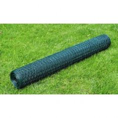 Plasă gard cu izolație PVC 75 cm x 25 m, grosime 0, 9 mm