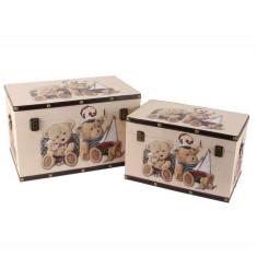 Juliana bagaje Set 2 cutii - Ursuleți de pluș