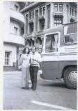 Bnk foto - Constanta - Piata Ovidiu - anii `70, Alb-Negru, Cladiri, Romania de la 1950