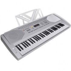 Claviatură electronică 61 clape cu suport note muzicale - Broderie