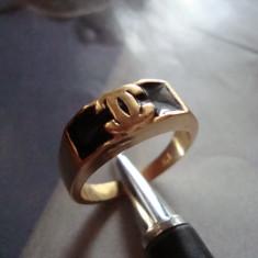 Inel Chanel Style-18KT - Inel placate cu aur Bvlgari