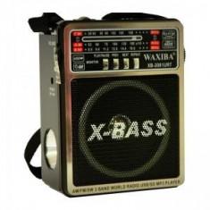 Radio Mp3 portabil Waxiba XB-2081URT, difuzor incorporat