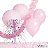 Lumina roz Partidul decorare Kit