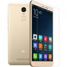 Folie protectie IMPORTGSM pentru Xiaomi Redmi Note 3 Pro, Tempered Glass, Transparenta