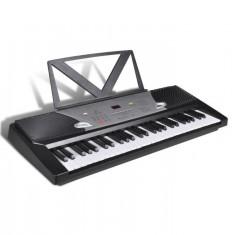 Claviatură electronică 54 clape cu suport note muzicale - Broderie