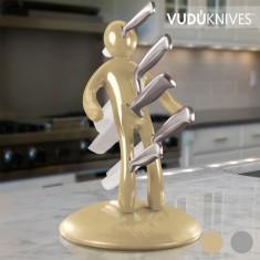 Set Suport și Cuțite Vudú Knives Supreme (5 piese) - Accesoriu electrocasnice bucatarie
