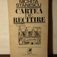 CARTEA DE RECITIRE -NICHITA STANESCU - Carte poezie