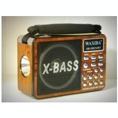 Mini radio dotat cu MP3 si lanterna Waxiba XB-2091URT