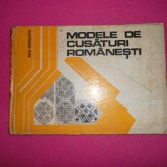 Modele De Cusaturi Romanesti - Ana Pintilescu -