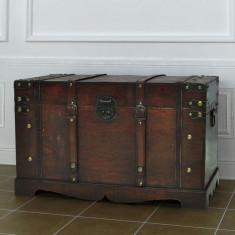 Cufăr vintage din lemn