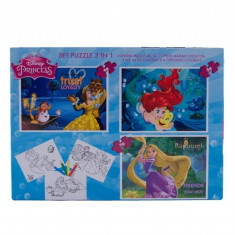 Puzzle Disney 3 in 1 Princess