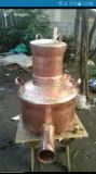 Cazan de tuica de 90 litri complet detali la 0737323089