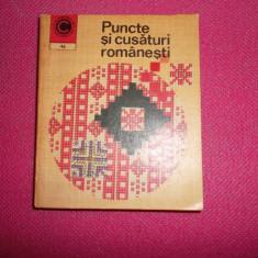 Puncte Si Cusaturi Romanesti 96pagini+90modele/an 1973/format Mic 10x12cm