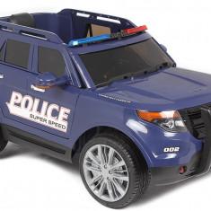 Masinuta electrica de politie pentru copii cu telecomanda - Masinuta electrica copii