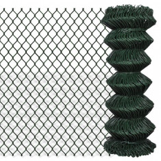 Gard lanț 1 x 25 m, Verde - Plasa gard