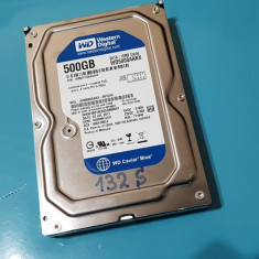 132S.HDD Hard Disk Desktop, 500GB, Western Digital, 7200Rpm, 16MB, Sata III, 500-999 GB, SATA 3