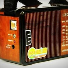 Radio portabil cu USB, MP3, MicroSD Player Leotec LT-611UC