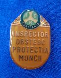 Insigna Inspector obstesc - Protectia muncii - Constanta - I.C.H.
