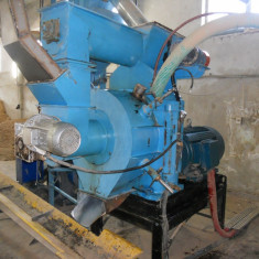 Linie de fabricat peleti 1000 kg/h