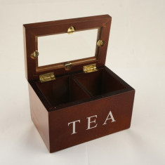 Cutie pentru ceai 2 compartimente - Cadou