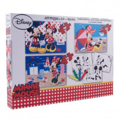 Puzzle Disney 3 in 1 Minnie
