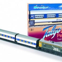 Trenulet electric calatori Talgo pendular cu macaz - Pequetren, Seturi complete