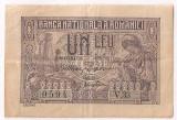 ROMANIA 1 LEU 1915 VICEGUVERNATOR AXF SERIE 2 CIFRE