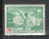 Vietnam de Sud.1960 Fond anti TBC  SV.275, Nestampilat