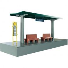 Platforma de asteptare Marklin Station - Vehicul