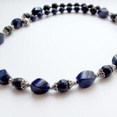 Colier din pietre naturale lapis lazuli