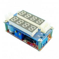 Modul Sursa reglabila 0.8V-29V 0-5A cu dublu afisaj Rosu-Albastru