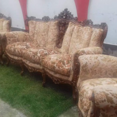 Set canapele stil baroc - Set mobila living