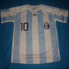 TRICOU DE FOTBAL ADIDAS MESSI ARGENTINA ORIGINAL - Echipament fotbal, Marime: M, Tricou fotbal