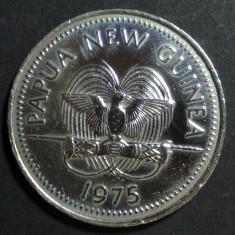 Papua New Guinea 20 toea 1975 aUNC, Australia si Oceania