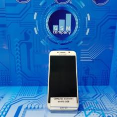 Samsung S6 Edge G925F White FACTURA+GARANTIE Impecabil Accesorii - Telefon Samsung, Alb, 32GB, Neblocat