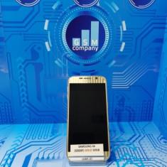 Samsung S6 G920F Gold Impecabil FACTURA+GARANTIE Valabila 12 Luni - Telefon mobil Samsung Galaxy S6, Auriu, 32GB, Neblocat