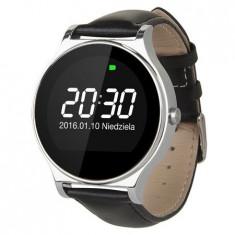 Smartwatch negru STYLE Kruger&Matz, Aluminiu