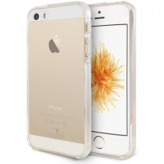 Husa protectie MERCURY GOOSPERY pentru Apple iPhone 5/5S/5C/SE, Silicon, Capac Spate, Transparenta