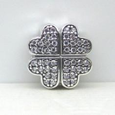 TALISMAN PANDORA CLIPS FLOARE TRIFOI ARGINT 925 - Bratara argint