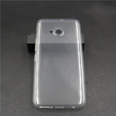 Husa silicon 0.3mm cu protectie la camera pentru HTC U11 Life / HTC U11 Plus - Husa Telefon, Transparent