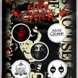 Alice Cooper: Eyes (Set Insigne - 5 Buc.) - Tricou barbati