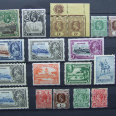 LOT COLONII BRITANICE GEORGE V 1910/1936, Stampilat