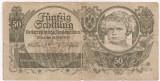 AUSTRIA 50 SCHILLING 1945 U