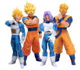 Set figurina Dragon Ball Z Super Goku Gohan Vegeta Trunks 18-21 cm