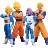 Set figurina Dragon Ball Z Super Goku Gohan Vegeta Trunks 18-21 cm
