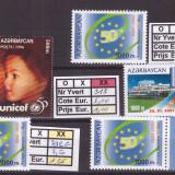 Azerbaijan - lot timbre neuzate
