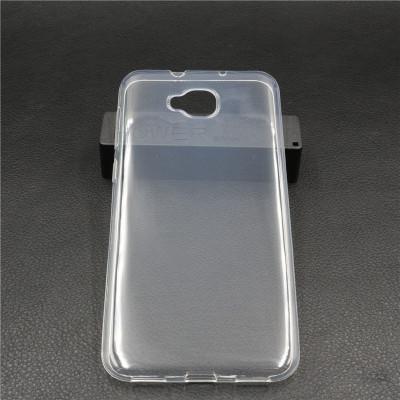 Husa silicon 0,3mm cu protectie la camera pt Asus Zenfone 4 Selfie ZD553KL foto