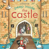 Peep Inside The Castle - Carte Usborne (3+) - Carte educativa