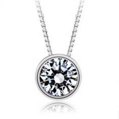 Colier Argint Diamond Sun